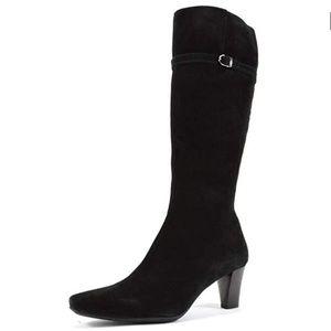 La Canadienne Dancer Boots Waterproof Suede NWB